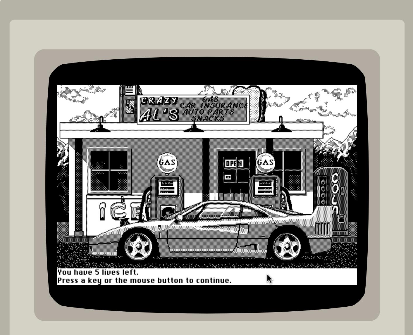 Mac 128k Test drive